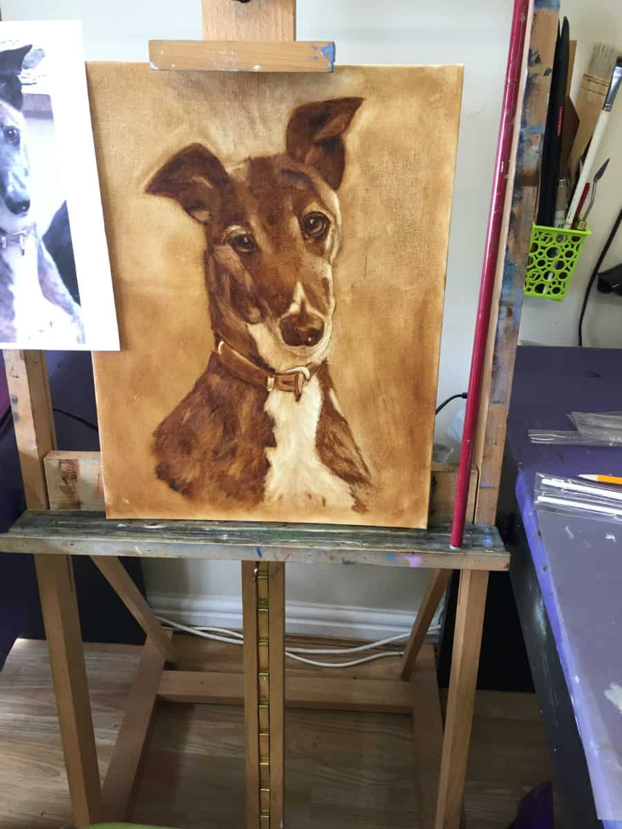 How it all Started 1 - Beginners Art Classes Uckfield Sussex