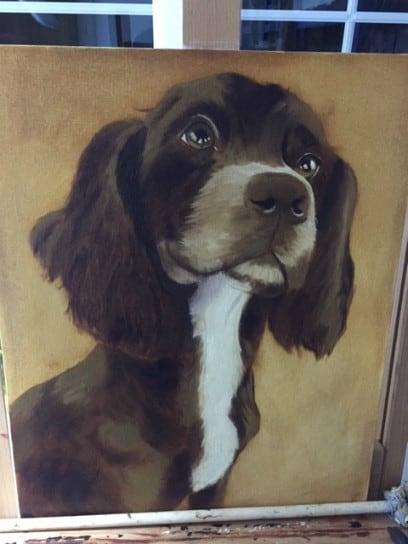 Sue Omara Art - Sprocker Puppy 3