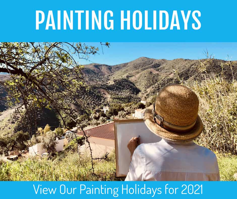Paiting Holiday 2021 Sue Omara Art