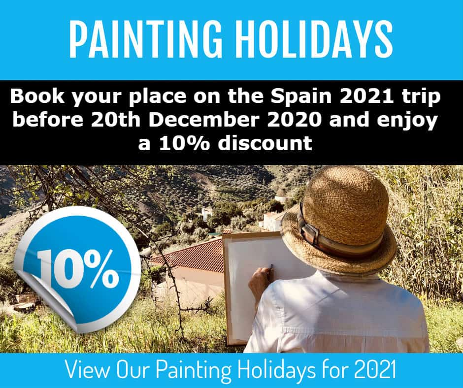 Paiting Holiday 2021 Sue Omara Art Offer