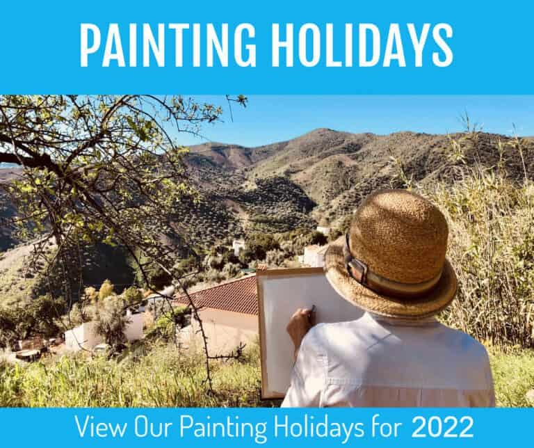 Paiting Holiday 2022 Sue Omara Art