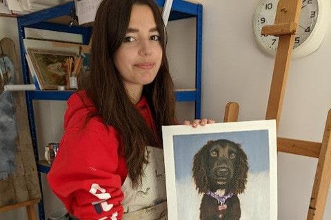 Pet Portrait Classes Sussex