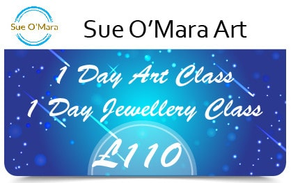 Sue Gift Cards 1 Day Art or Jewellery