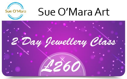 Sue Gift Cards 2 Day Jewellery Class