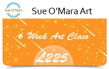 Sue Gift Cards 6 Week Art Class