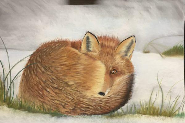 Frosty the Fox